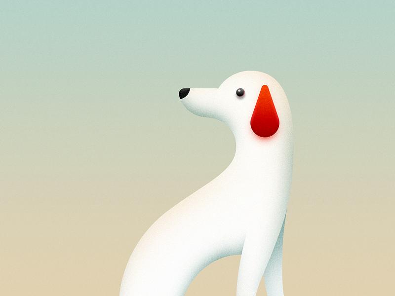 2018 Dog Year 2018 dog year sandor new year happy new year 2018 dog dog year illustration logo iconography line white dog