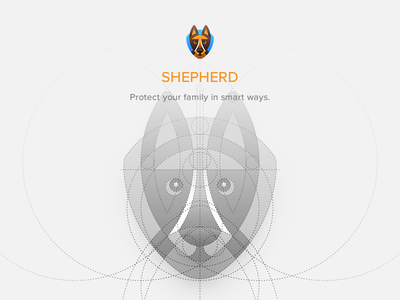 Shepherd Logo Construction os icon app icon ios icon mac os icon macos icon mac icon osx icon dog logo stripes icon circle dog sandor illustration iconography construction logo german shepherd shepherd