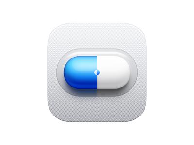 Capsule Icon app iphone icon os icon mac os icon macos icon mac icon osx icon ios icon app icon pill capsule sandor ios icon realistic