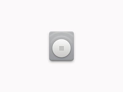 Voice Assistant app iphone icon os icon icon ios icon mac os icon macos icon mac icon osx icon app icon realistic cobblestone sandor radio siri sound voice assistant