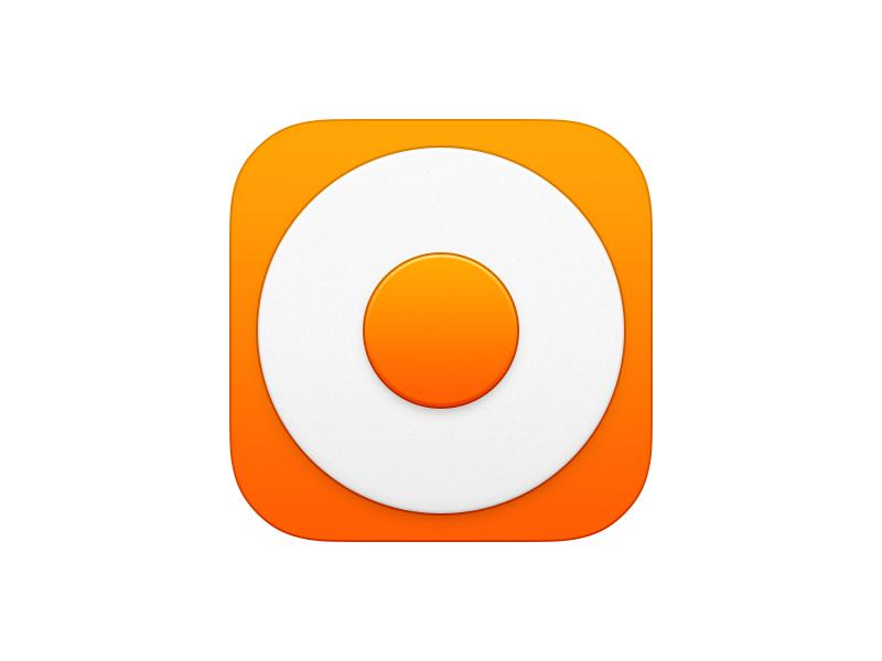 Ring Icon app iphone icon os icon icon ios icon mac os icon macos icon mac icon osx icon circle ring flat realistic app icon loop sandor