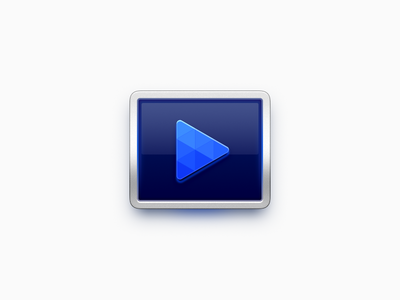 Video Player Icon app iphone icon realistic os icon app icon icon ios icon mac os icon macos icon mac icon osx icon filmplayer movieplayer sandor player video video player