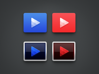 Video Player Icons