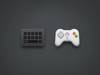 Keyboard & Gamepad app iphone icon os icon app icon icon ios icon mac os icon macos icon mac icon realistic osx icon smartisan sandor game handle gamepad keyboard