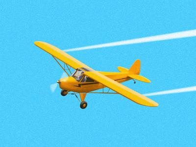 Light Aircraft 2 lightaircraft aircraft plane airplane air sky bluesky fly illustration light painting sandor