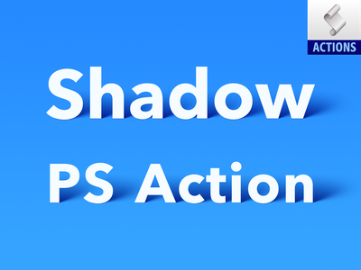Shadow PS Action 2 (Free Download) shadow ps action action atn free download free download sandor photoshop action