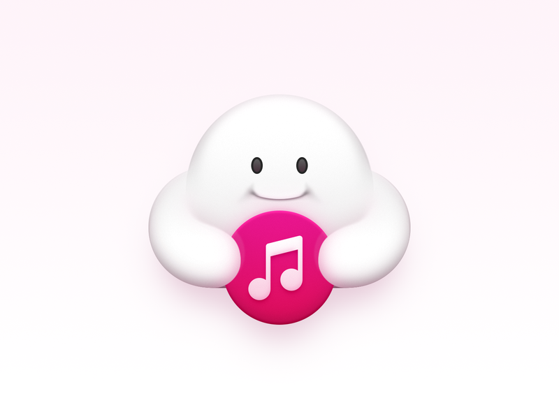 Cloud Music note music cloud cloud music smartisan icon smartisan sandor realistic osx icon os icon macos icon mac os icon mac icon icon app icon app