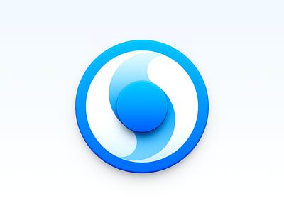 Browser Icon tai chi ux icon ui icon user interface icon skeu skeuomorph skeuomorphism mac icon macos icon osx icon browser icon browser realistic app icon sandor
