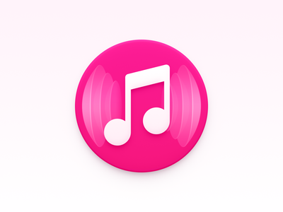 Music Icon sonic sound wave ux icon ui icon user interface icon skeu skeuomorph skeuomorphism mac icon macos icon osx icon app icon music music icon realistic sandor music player note