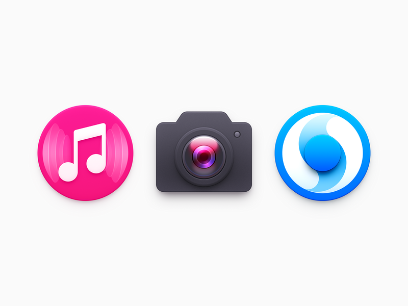 Icons timer music player note camera icon music icon camera music app app icon clock clock icon time icon mac icon mac os icon macos icon os icon osx icon realistic sandor