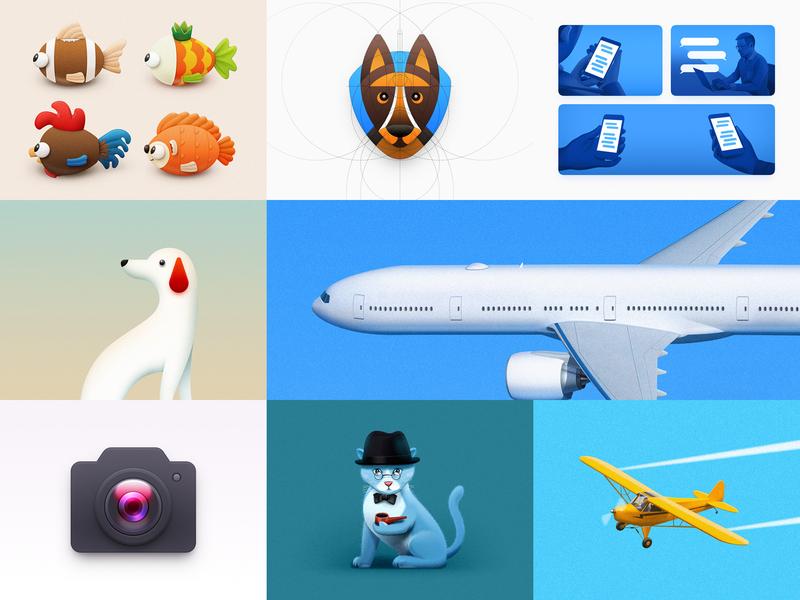 2018 Best Nine camera icon shepherd kitten chat message illustration app icon icon camera dog fish aircraft light aircraft airliner animal cat sandor best 2018 2018 best nine
