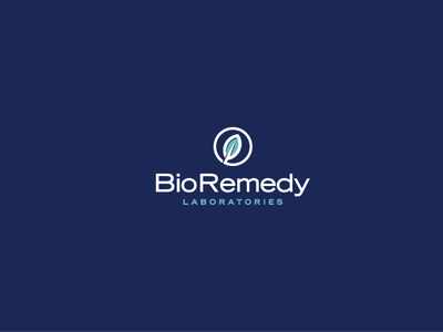 BioRemedy Laboratories concept logo logodesign