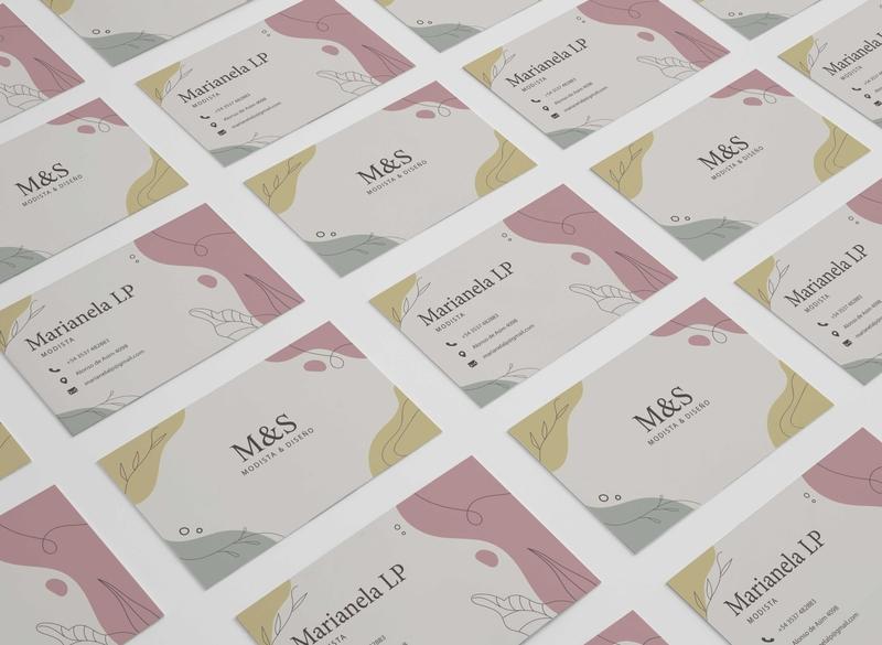 Cards S&M mockup minimal illustration designer logo ilustrator illustrator design branding photoshop