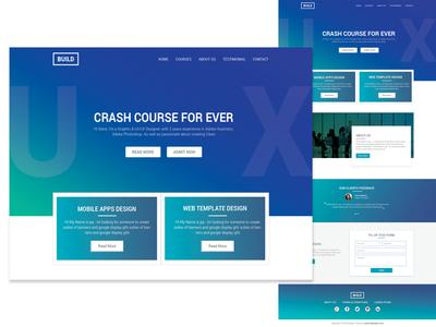 UX Crash Course Template
