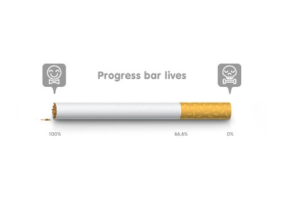 Progress bar lives progress bar yellow design