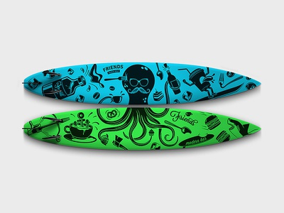 Surf Board surf board graphic