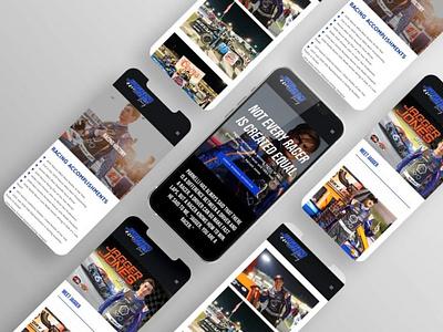 Jagger Jones Website racing jagger jones jagger jones web design website