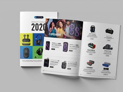 Unno Tekno 2020 Catalog 2020 design graphic design brochure catalog design catalog