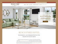 Beach Park Hotel Website