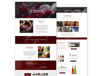 Quixote Vinum Website