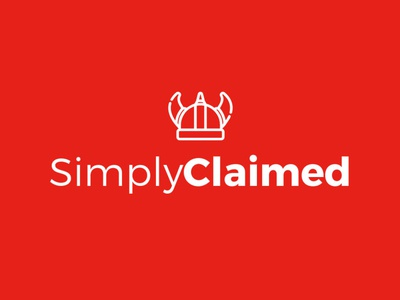 Simply claimed legal office claim insurance lawyer laws legal graphic identity graphic design logo design miami branding logo design