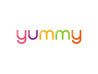 Yummy Logo design web design technology graphic identity graphic design logo design miami branding logo design