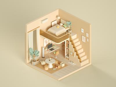 lofter graphic design design 3d style