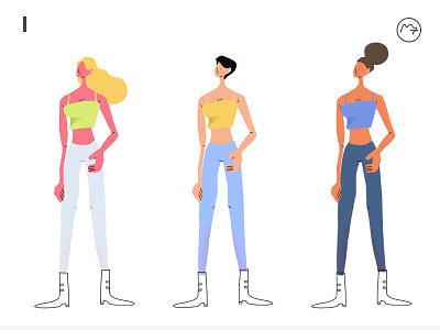 Character fashion female character