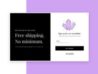 Free Shipping Modal