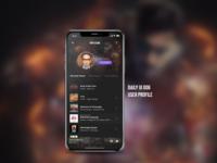 DailyUI Challenge #006 - User Profile