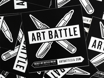 Art Battle L.A. Logo