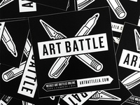 Art Battle L.A. Logo