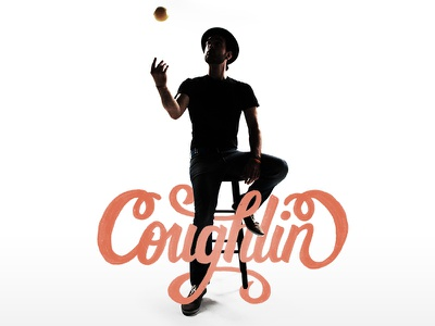 Coughlin Album Art type lettering typography photography