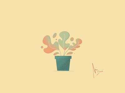 Flower on procreate