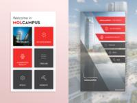 Molcampus menu concept