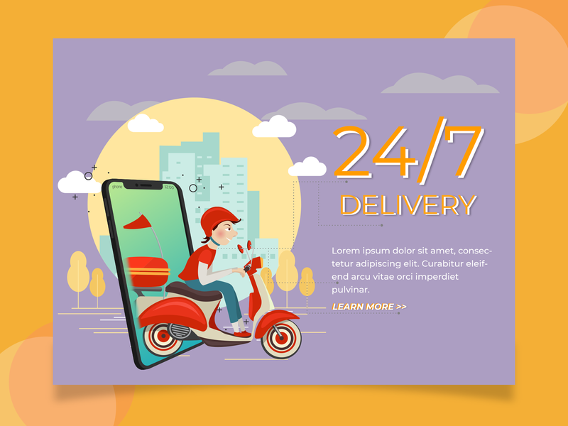 24/7 Delivery Web
