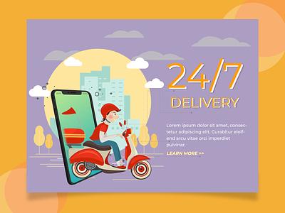 24/7 Delivery Web web design delivery design art designs lgoo websites designer website design