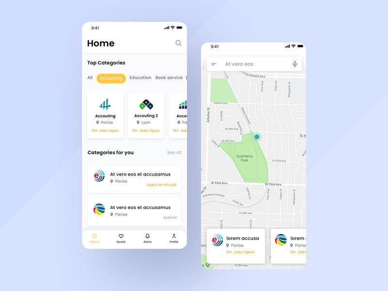 Services App UI