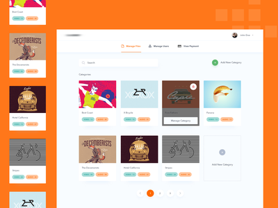 Manage Files Online Drive file upload music category upload photos videos files file manager file color branding icon web website iphone app ui ux clean design