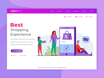 Web Page logo flat branding desing website app ui ux clean design