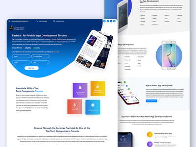 Web Page illustration desing color branding icon web website iphone app ui clean design