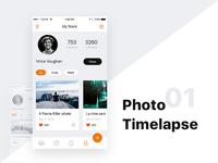 Photo Timelaps UI
