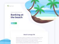 Beach website