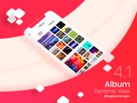 Album Dynamic View