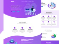 Cryptocurreny Landing page