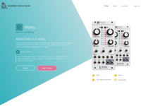 Landing Page (Mutable Instruments)