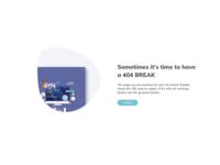 404 page / Error Page