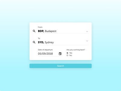 Daily Ui 68 Fightserach popup flighsearch search flight uiux dailyui