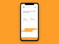 Dailyui 80 Date Picker