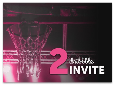 Dribbble Invite 2 two invite